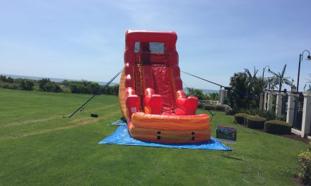20 ft Lava Flow Water Slide