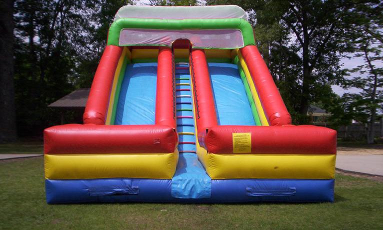 22 ft Double Giant Slide