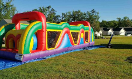 40' Rainbow Obstacle Course